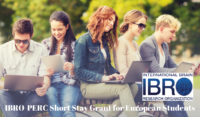 IBRO-PERC Short Stay Grant for European Students, 2020