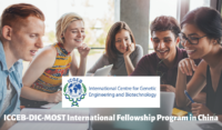 ICGEB-DIC-MOST International Fellowship Program in China