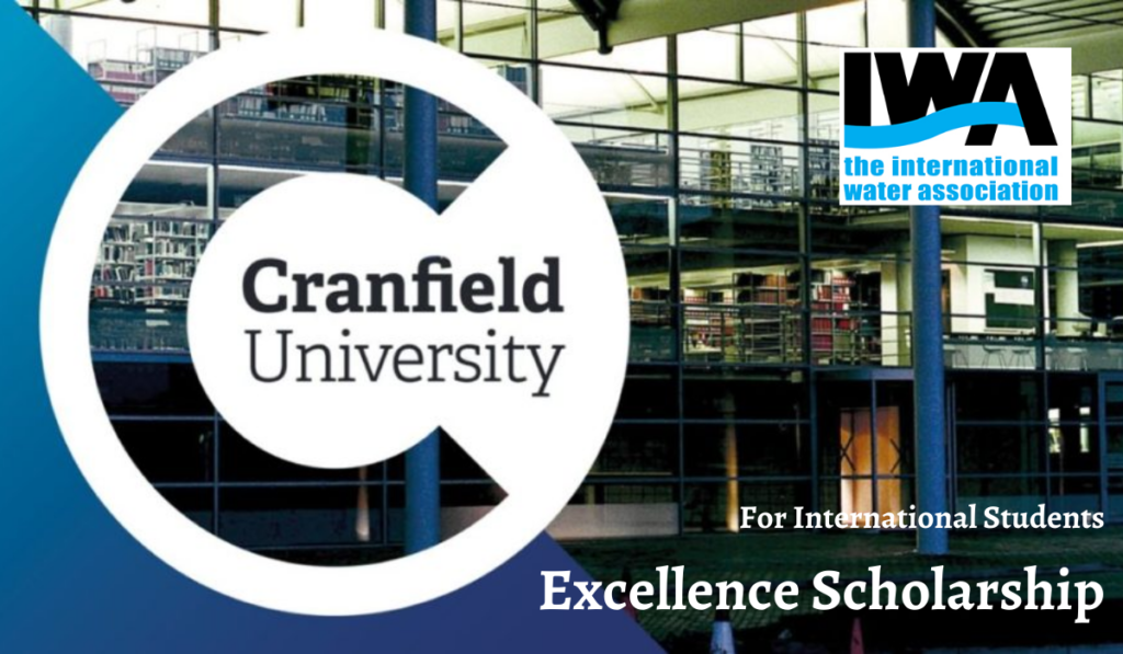 International Water Association and Cranfield University Excellence Scholarship