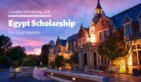 Lincoln University Egypt Scholarships in the UK
