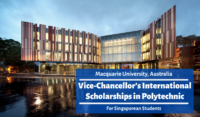 Macquarie University Vice-Chancellor's international awards in Polytechnic