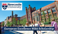 Newcastle University European Excellence MBA Scholarship in the UK