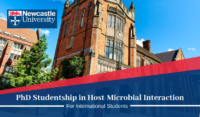 Newcastle University International PhD Studentship in Host-Microbial Interaction in the UK