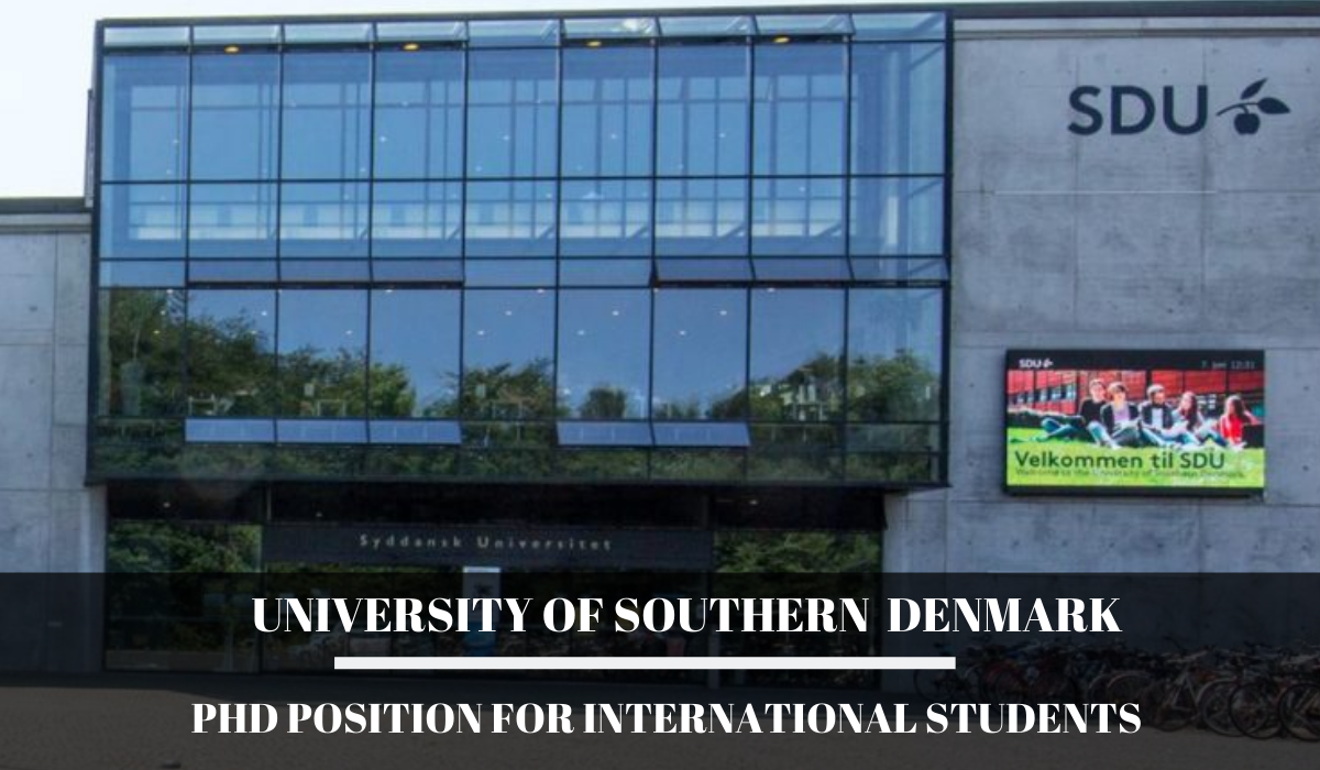 PhD Position for International Students at University of ...