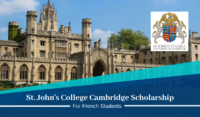 St. John's College Cambridge funding for French Students in the UK