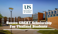 Sussex GREAT funding for Thailand Students in the UK