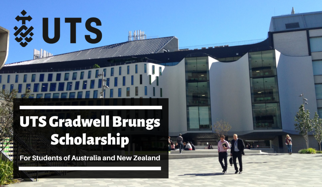 UTS Gradwell Brungs funding for Domestic and New Zealand Students
