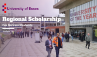 University of Essex Bahrain Regional Scholarship in the UK