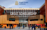 Anglia Ruskin University GREAT Scholarships for International Students in the UK
