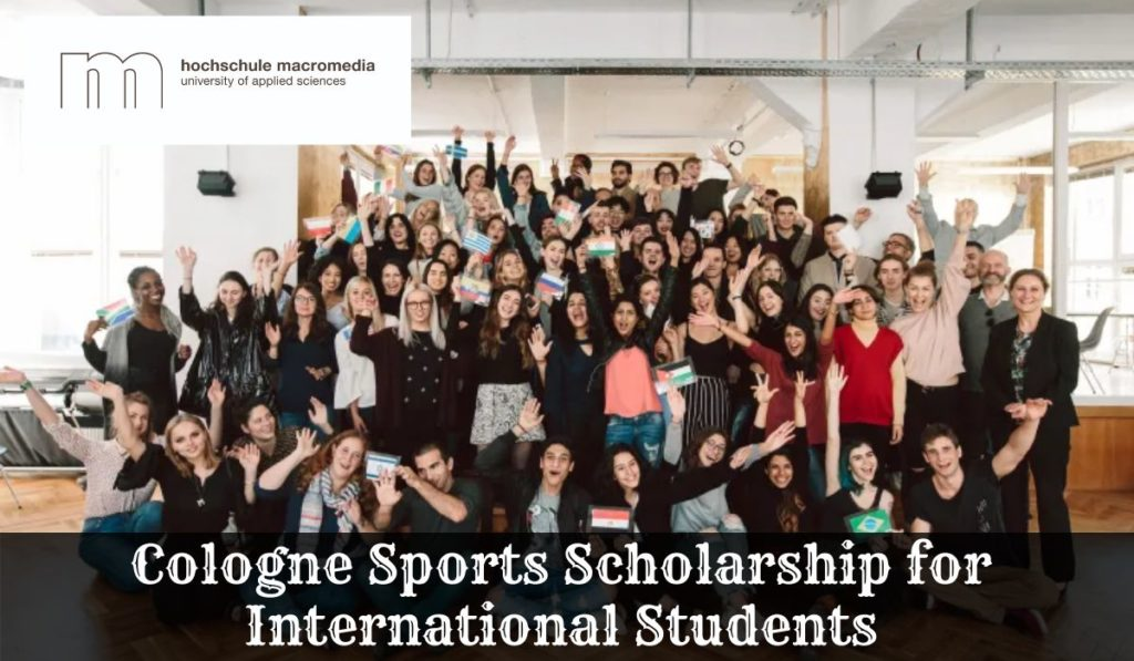 Cologne Sports Scholarship for International Students