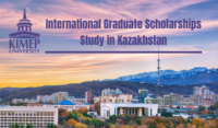 KIMEP University International graduate funding opportunities in Kazakhstan