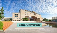 Bond University Master of Architecture Scholarship