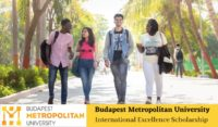 Budapest Metropolitan University International Excellence Scholarship