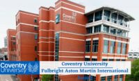 Coventry University Fulbright Aston Martin Award in the UK