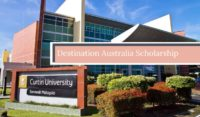 Curtin University Destination Australia funding for International Scholarship