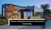 International Achievement Scholarship at Mission College, USA