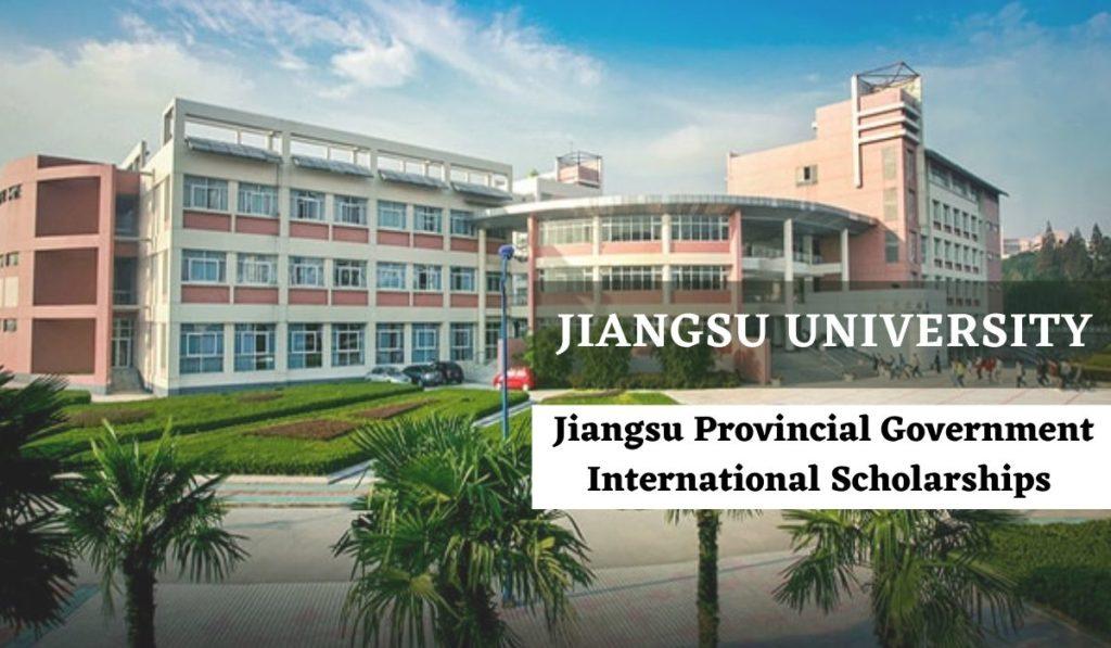 Jiangsu Provincial Government international awards at Jiangsu University, Japan