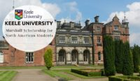 Keele University Marshall funding for North American Students