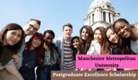 Manchester Metropolitan University Postgraduate Excellence International Scholarship