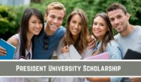 President of University funding for International Students