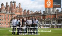 Royal Holloway Principal's Masters funding for Home and International Students