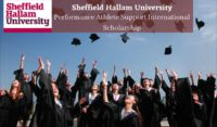 Sheffield Hallam University Performance Athlete Support International Scholarship in UK