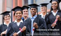 Sub-Saharan Africa Scholarship at University of Bradford, UK