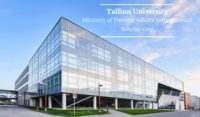 Tallinn University Ministry of Foreign Affairs International Scholarship