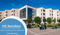 UIC Barcelona International Excellence Scholarship in Spain