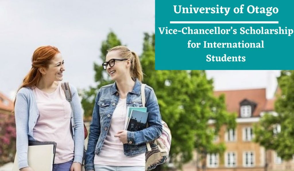 University of Otago Vice-Chancellor's funding for International Students