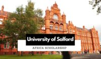 University of Salford Africa Scholarship