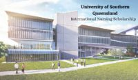 University of Southern Queensland International Nursing Scholarship