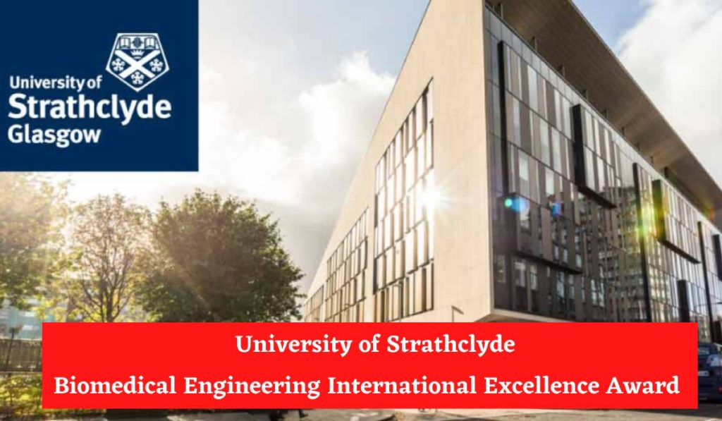 University of Strathclyde Biomedical Engineering International Excellence Award