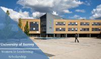 University of Surrey Women in Leadership Scholarship