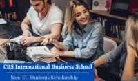 CBS International Business School Non-EU Students Scholarship in Germany