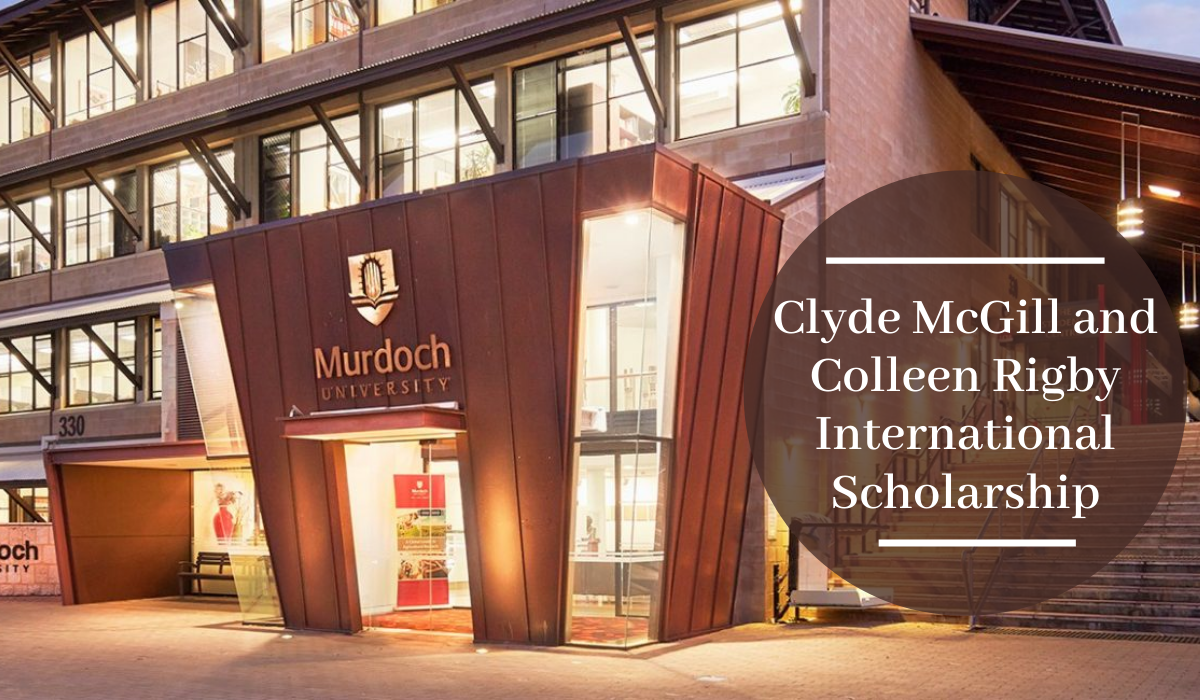 Clyde McGill and Colleen Rigby International Scholarship