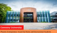 Coventry University Phoenix Entrepreneur Award for Home and International Students