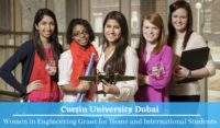 Curtin University Dubai Women in Engineering Grant
