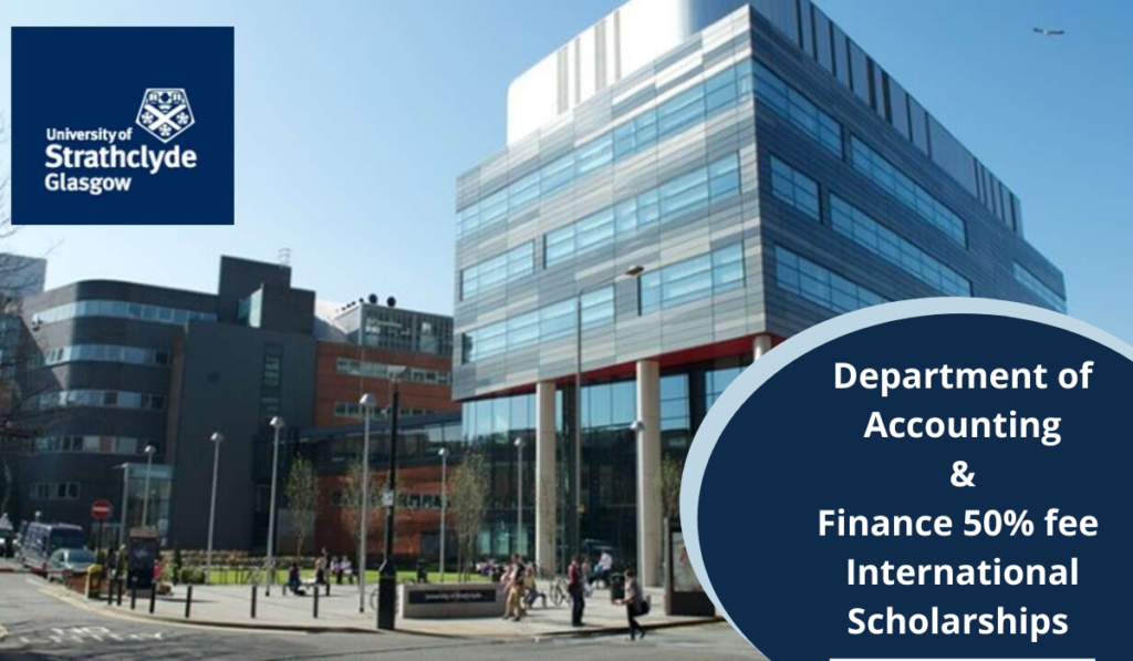 Department of Accounting and Finance 50% fee international awards in UK