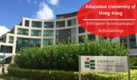 Education University of Hong Kong Entrance International Scholarship