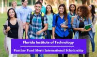 Florida Institute of Technology Panther Fund Merit International Scholarship