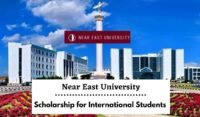 Near East University funding for International Students in Turkey