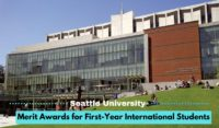 Seattle University Merit Awards for First-Year International Students