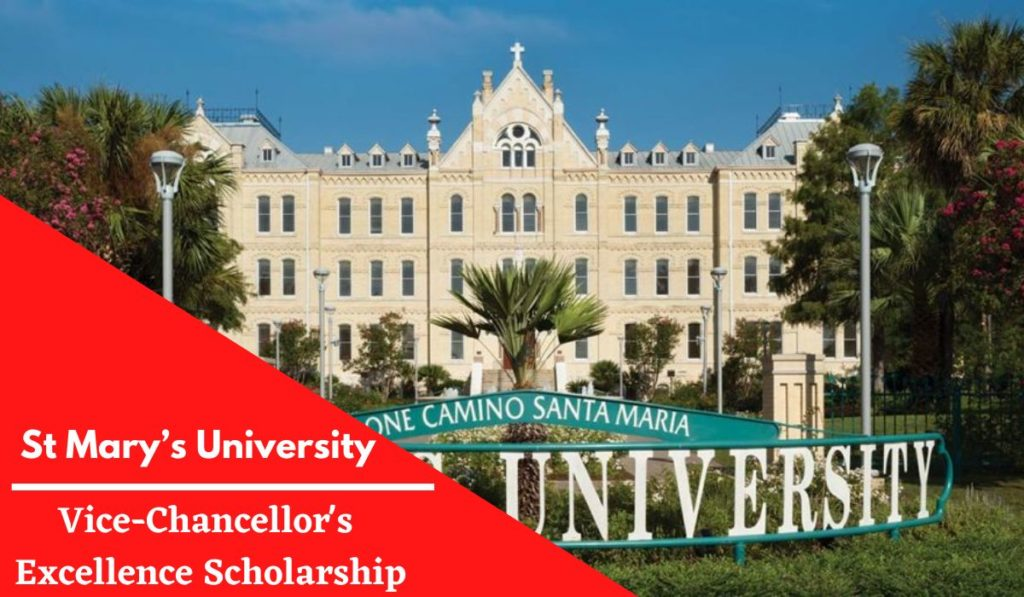 St Mary's University Vice-Chancellor's Excellence Scholarship in the UK