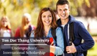 Ton Duc Thang University Undergraduate International Scholarship
