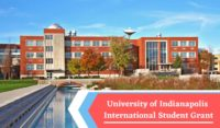 University of Indianapolis International Student Grant in USA