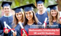 University of Plymouth Mathematics funding for UK and EU Students