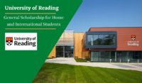 University of Reading General funding for Home and International Students