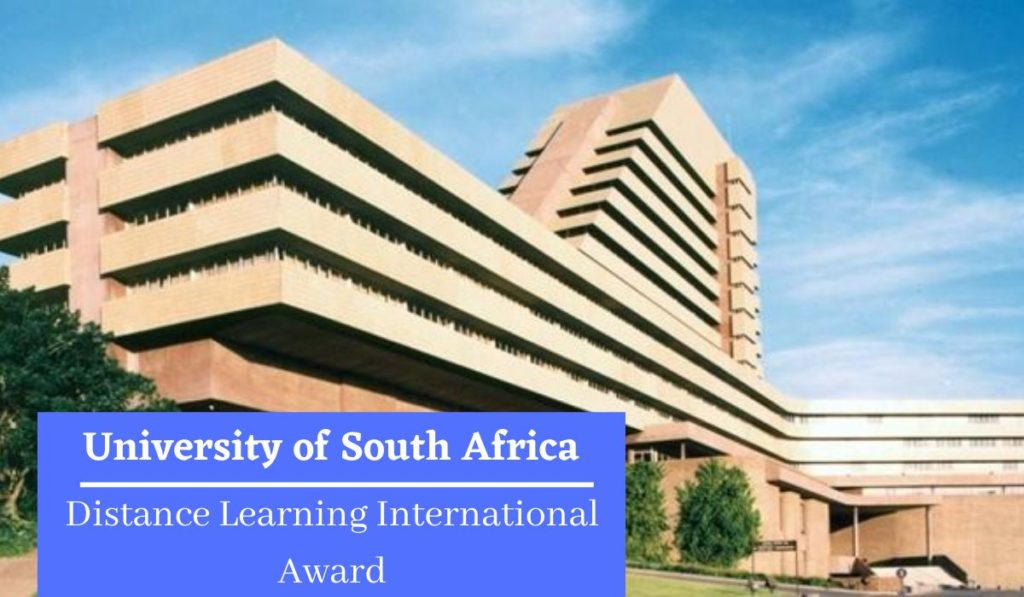 University of South Africa Distance Learning International Award