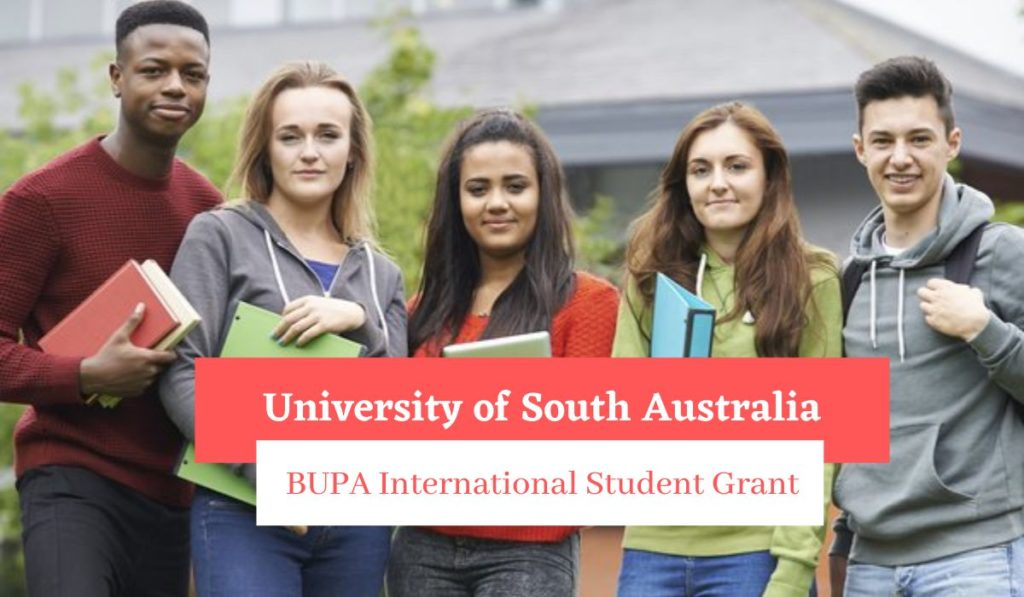 University of South Australia BUPA International Student Grant